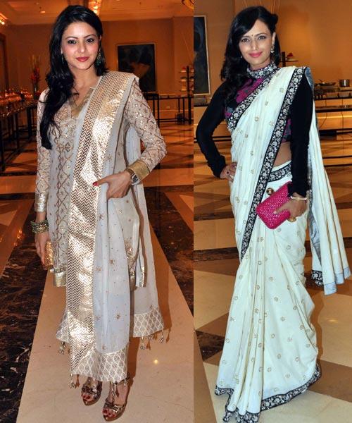 Aamna Sharif and Roshni Chopra