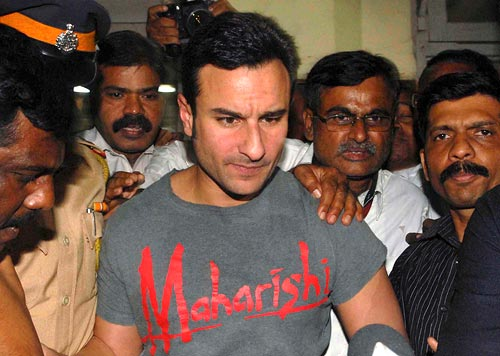 Saif's been violent before. Here's when