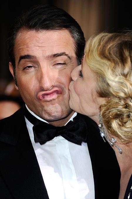 Jean Dujardin and wife Alexandra Lamy