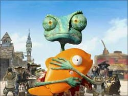 A scene from Rango