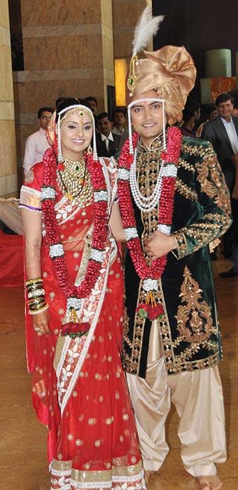 Deepishika Bhagnani and Dheeraj Deshmukh