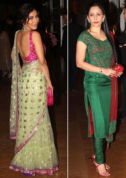 Sophie Choudry and Maanyata Dutt