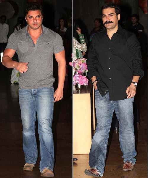 Sohail Khan and Arbaaz Khan