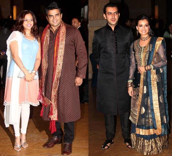 R Madhavan, Sunita, Dia Mirza and Sahil Sangha