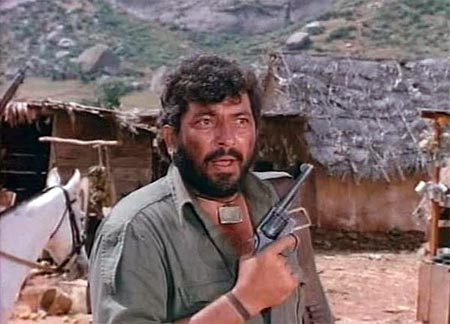 Amjad Khan in Sholay