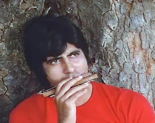 Amitabh Bachchan in Sholay