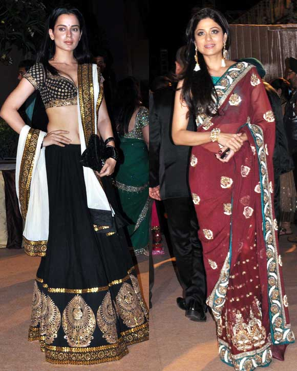 Kangna Ranaut and Shamita Shetty