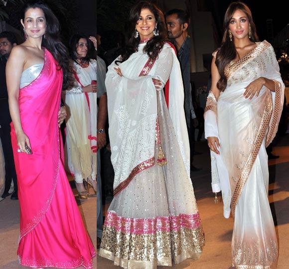 Ameesha Patel, Urmila Matondkar and Jiah Khan