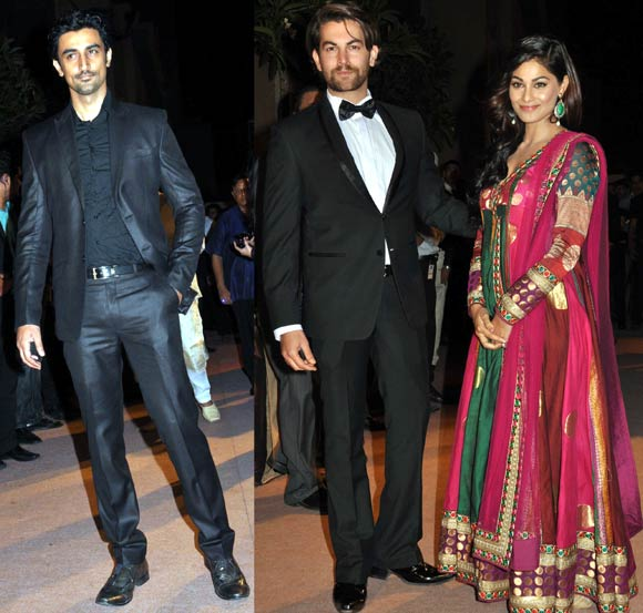 Kunal Kapoor, Neil Nitin Mukesh and Puja Gupta