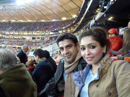Iqbal Sharma and Tarina Patel