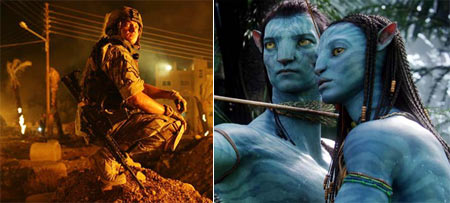 The Hurt Locker and Avatar