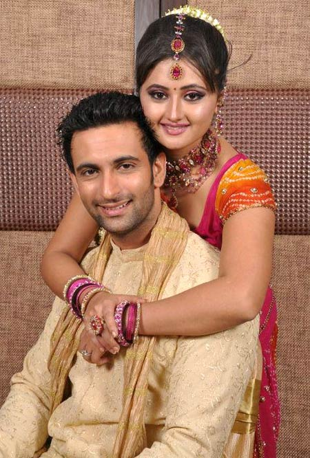 Nandish Sandhu and Rashmi