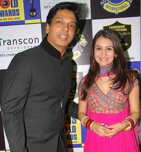 Mahesh Shetty and Anisha Kapoor