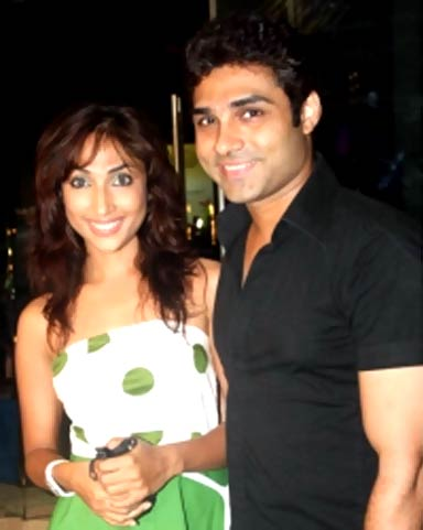 Mouli Ganguly and Mazhar Sayyed