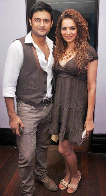 Manav Gohil and Shweta Kawatra