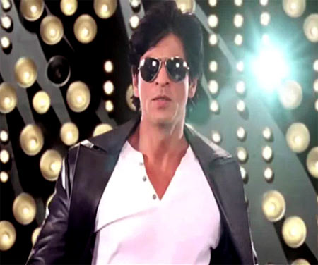 Shah Rukh Khan in an item song in Always Kabhi Kabhi