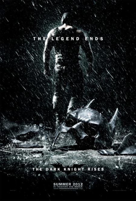 Movie poster of The Dark Knight Rises
