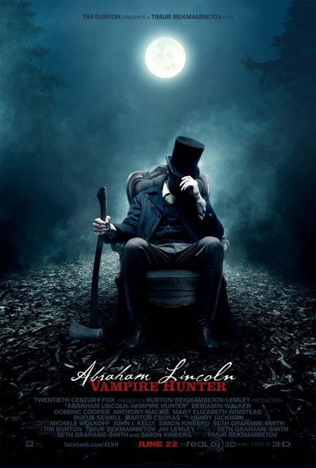 Movie poster of Abraham Lincoln: Vampire Hunters