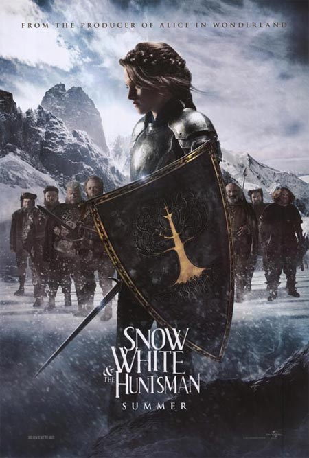 Movie poster of Snow White and the Huntsman