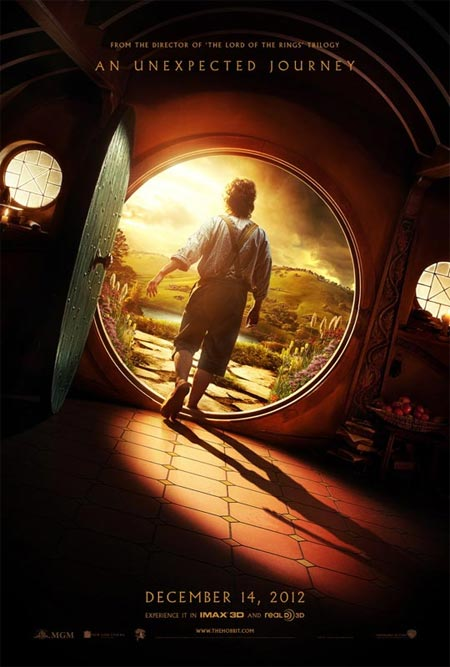 Movie poster of The Hobbit: An Unexpected Journey