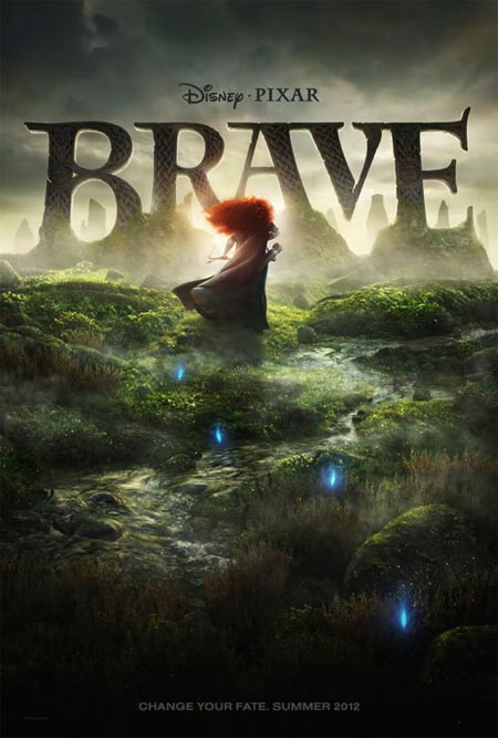 Movie poster of Brave