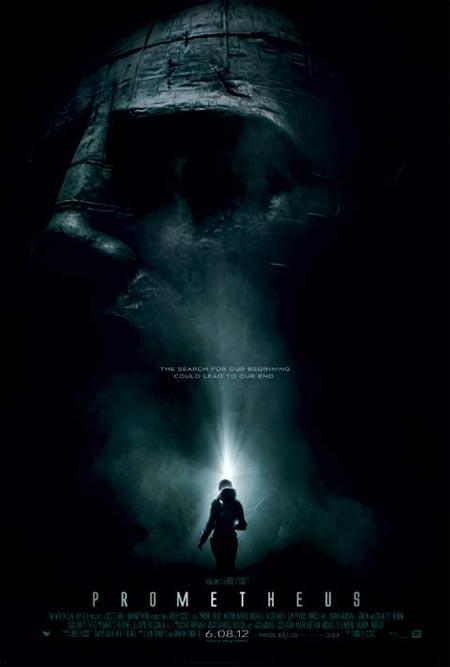 Movie poster of Prometheus