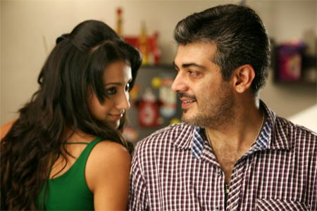 A scene from Mankatha