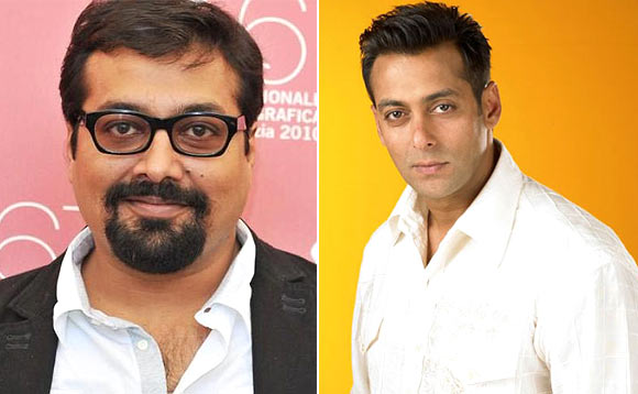 Anurag Kashyap and Salman Khan