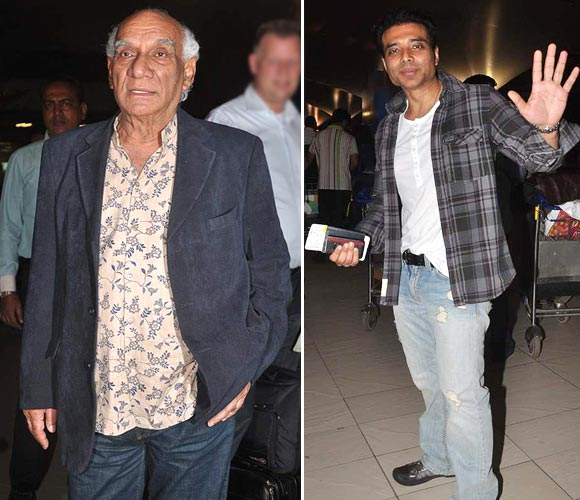 Yash Chopra and Uday Chopra