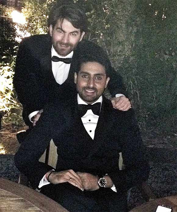Neil Nitin Mukesh and Abhishek Bachchan