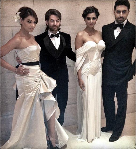 Bipasha Basu, Neil Nitin Mukesh, Sonam Kapoor and Abhishek Bachchan