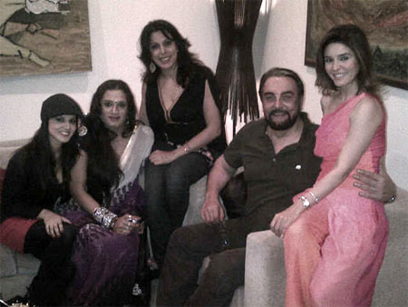 Sunny Leone, Laxmi Narayan Tripathi, Pooja Bedi , Kabir Bedi, Rageshwari