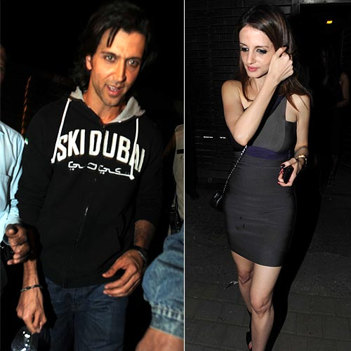 Hrithik and Sussane Roshan