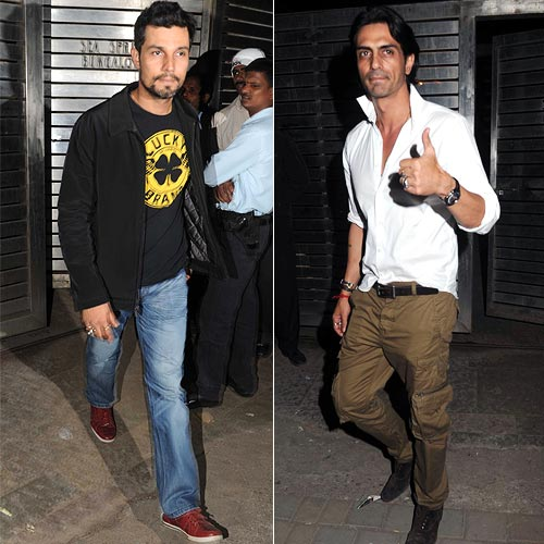 Randeep Hooda and Arjun Rampal