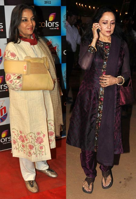 Shabana Azmi and Hema Malini