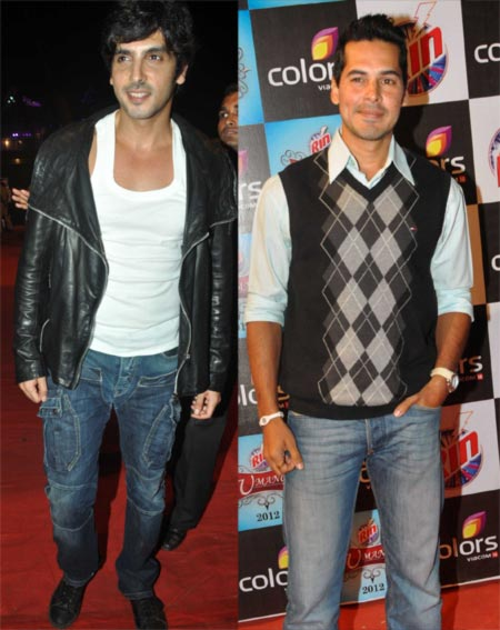 Zayed Khan and Dino Morea