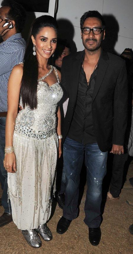 Mallika Sherawat and Ajay Devgn