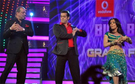 Sanjay Dutt, Salman Khan, Malaika Arora Khan