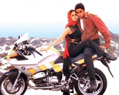 Aishwarya Rai and Abhishek Bachchan in Dhaai Akshar Prem Ke