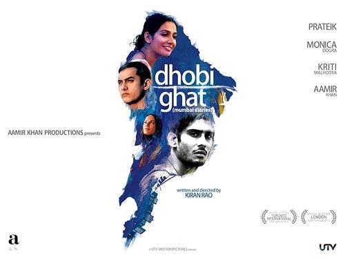 Movie poster of Dhobi Ghat