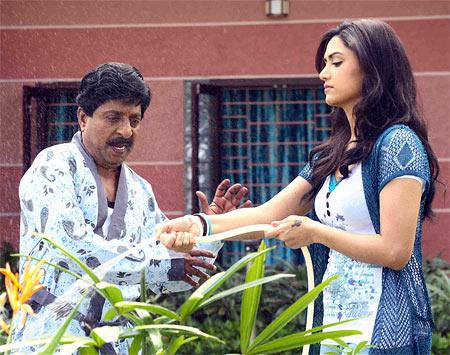 A scene from Padmasree Bharat Dr Saroj Kumar