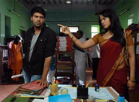 A scene from Vettai