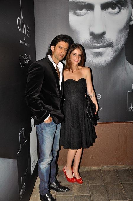 Hrithik Roshan and Sussane Roshan