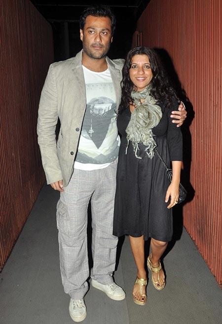 Abhishek Kapoor and Zoya Akhtar