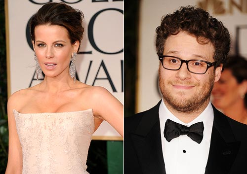 Kate Beckinsale and Seth Rogen