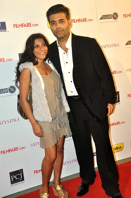 Zoya Akhtar and Karan Johar