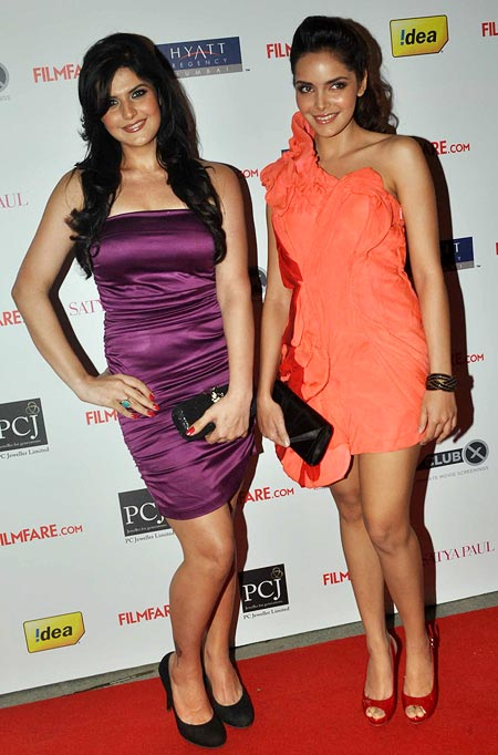 Zarine Khan and Shazahn Padamsee