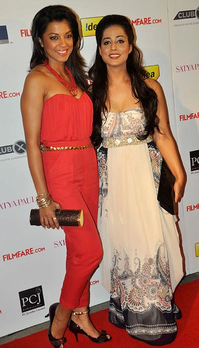 Mughda Godse and Mahie Gill
