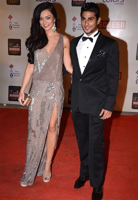 Amy Jackson and Prateik