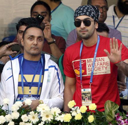 Rahul Bose and Ranbir Kapoor